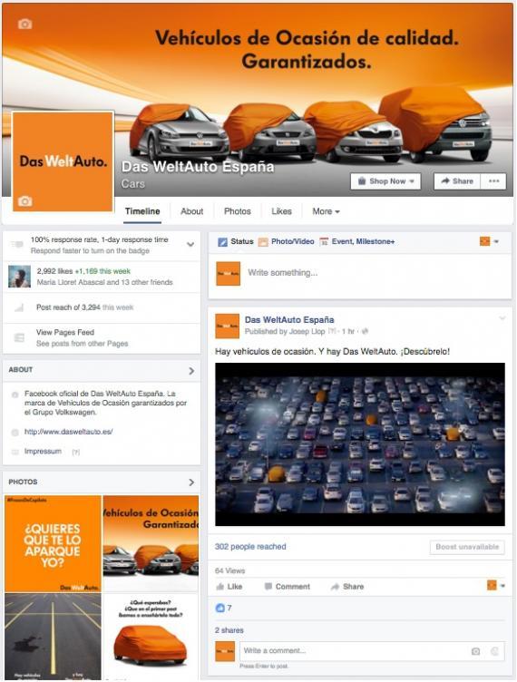 Das WeltAuto en las redes sociales